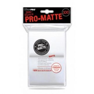Ultra Pro Standard Deck Protector PRO Matte White