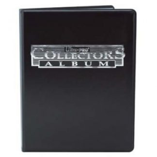 Collectors 4-Pocket Portfolio - Black