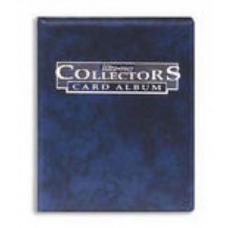 Collectors 4-Pocket Portfolio - Blue