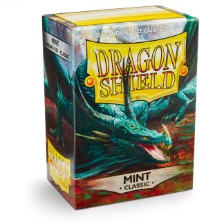 Dragon Shield Classic Mint Box