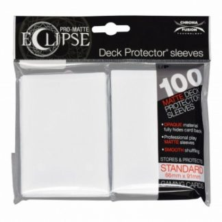 Ultra-PRO Eclipse sleeves arctic white