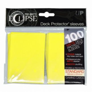Ultra-PRO Eclipse sleeves lemon yellow