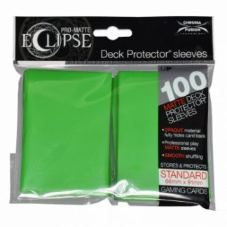 Ultra-PRO Eclipse sleeves lime green