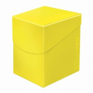 Eclipse PRO 100+ Deck Box - Lemon Yellow