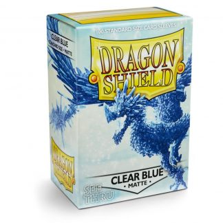 Dragon Shield Clear Blue