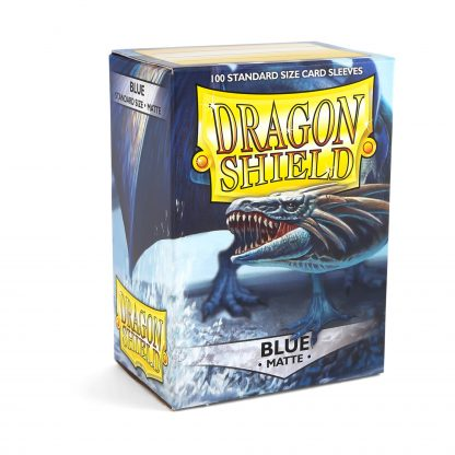 Dragon Shield Matte Blue Box
