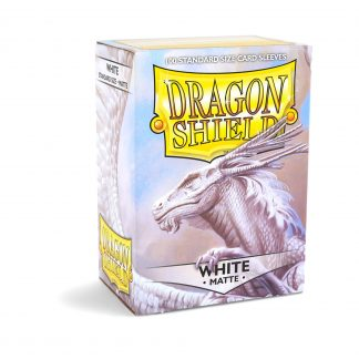 Dragon Shield Matte White Box