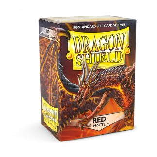 Dragon Shield Matte Red Box