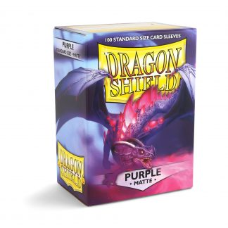 Dragon Shield Matte Purple Box