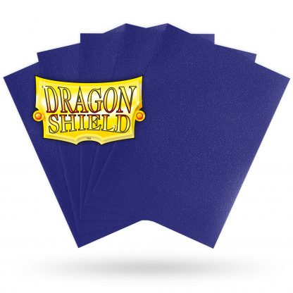 Dragon Shield Matte Blue Sleeves