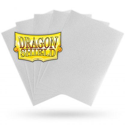 Dragon Shield Matte White Sleeves