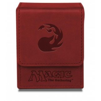 Ultra PRO Deck Box Flip Mana Red Mat