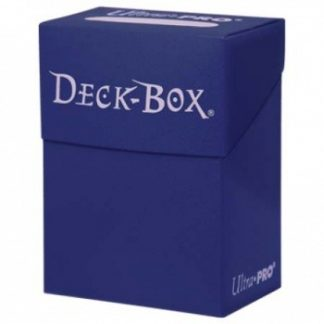 Ultra Pro Deck Box Solid Blue