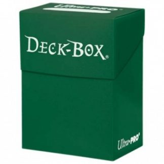 Ultra Pro Deck Box Solid Green