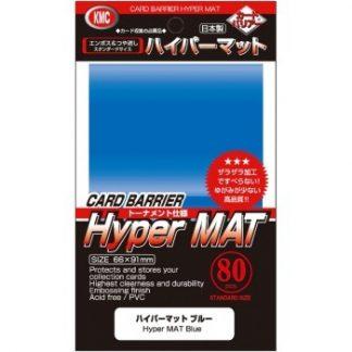 KMC Standard Sleeves - Hyper Mat Blue