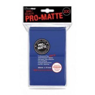Ultra Pro Standard Deck Protector PRO Matte Blue