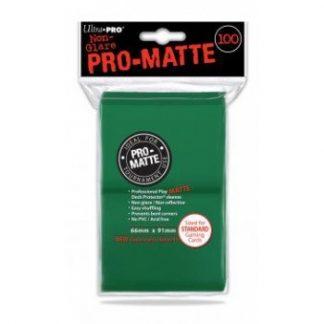 Ultra Pro Standard Deck Protector PRO Matte Green