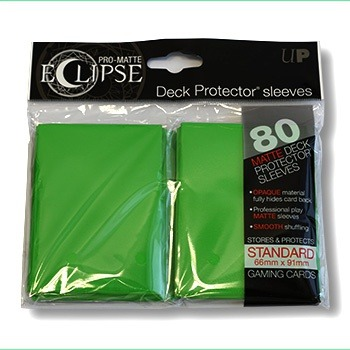 Ultra-PRO Eclipse sleeves Green