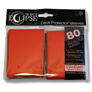 Ultra-PRO Eclipse sleeves Red