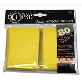 Ultra-PRO Eclipse sleeves Yellow