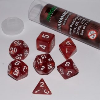 Blackfire Dice - Charming Red