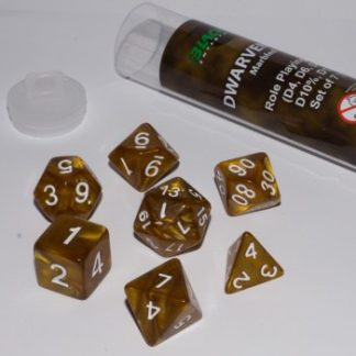 Blackfire Dice - Dwarven Gold