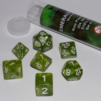 Blackfire Dice - Emerald Green