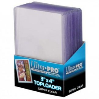 Ultra PRO Toploader Premium Clear