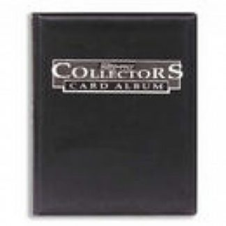 Collectors 9-Pocket Portfolio - Black
