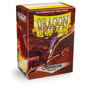Dragon Shield Matte Crimson Box