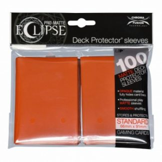 Ultra-PRO Eclipse sleeves pumpkin orange