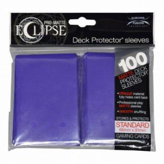 Ultra-PRO Eclipse sleeves royal purple
