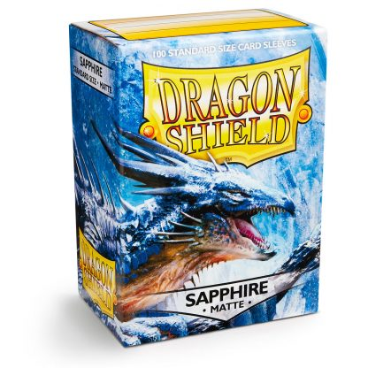 Dragonshield Matte Sapphire Doosje