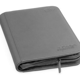 4-pocket zipfolio Grey