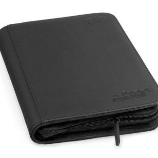 4-pocket zipfolio black