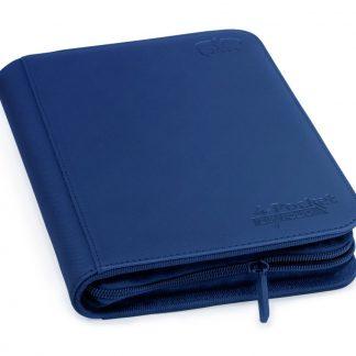 4-pocket zipfolio dark blue