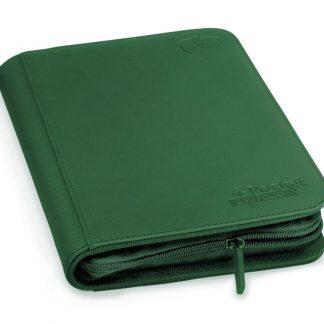 4-pocket zipfolio green
