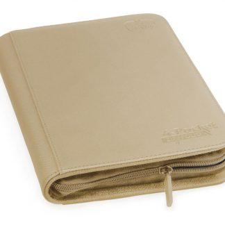 4-pocket zipfolio sand