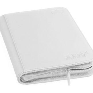 4-pocket zipfolio white