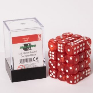 Charming Red dice cube