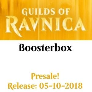 Guilds of Ravnica Boosterbox Presale