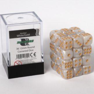 White dice cube
