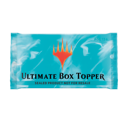 Ultimate Masters Boxtopper