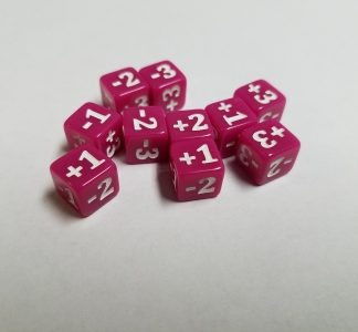 Mini Counter Dice Pink