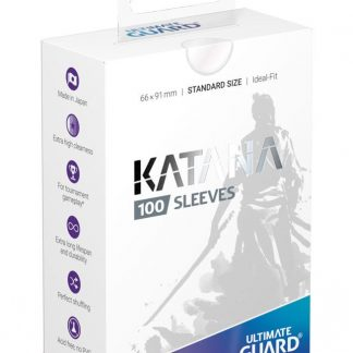 Ultimate Guard Katana Sleeves Transparent