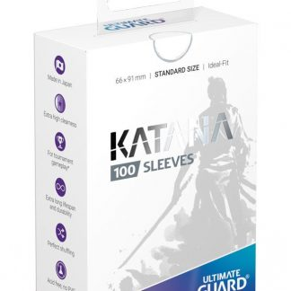 Ultimate Guard Katana Sleeves White
