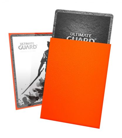 Ultimate Guard Katana Sleeves - Orange 2