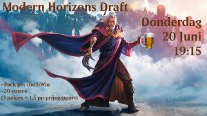 Flipped Table - Modern Horizons Draft! @ Cafe 't Veehandelshuis | Prinsenbeek | Noord-Brabant | Nederland